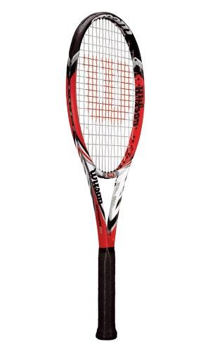 WILSON Tennisschläger Steam 99 16/18, rot/schwarz/weiß, L2, WRT71521U