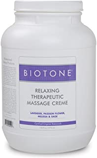 BIOTONE Relaxing Therapeutic Massage Creme - 1 Gallon