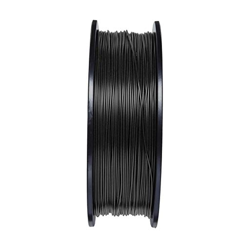 Ifun 3D Printer Filament Carbon Fiber which Compatible with Major 3D Printers 1.75 mm 1KG(2.2LB) Black Premium raw Material Top Dimensional Accuracy for Your Advanced 3D Printing Requirements