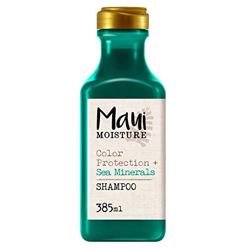 Maui Moisture, Champú Protección del Color y Minerales Marinos, pelo Teñido, 385 ml