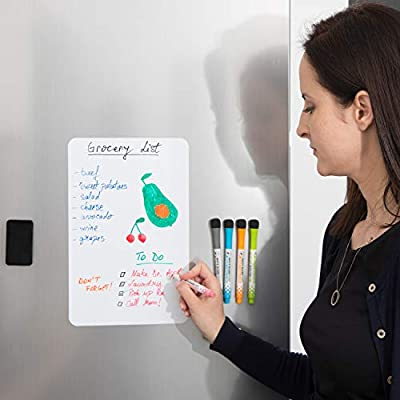 Magnetic Dry Erase Board for Fridge by Yuc