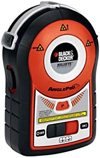 BLACK+DECKER BDL170 Bullseye Auto-Leveling Laser With AnglePro