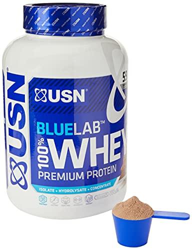 USN Blau Labor 100% Prima Chocolate Suero Proteína Polvo 2000 g
