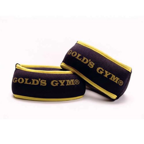 Gold's Gym Neoprene Ankle/Wrist Weights 2.5kg