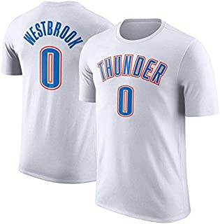 best service 2af85 466d2 T-shirt Pour Hommes NBA Oklahoma City Thunder Basketball Jersey Gilet De  Gymnastique T-