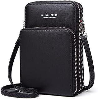 حقيبة صغيرة للصيف للهاتف المحمول للاستخدام اليومي حامل بطاقات للهاتف المحمول ومحفظة نسائية