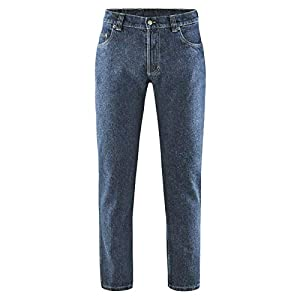 Blue Denim Jeans Rinsed - HempAge