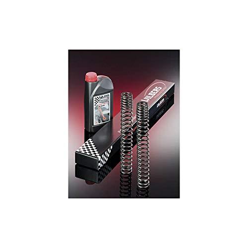Wilbers 6003-711 Gabelfedern für Ducati Monster 796 10, inkl. Hülse 80 mm für rechten Holm, Nur für Showa Gabel