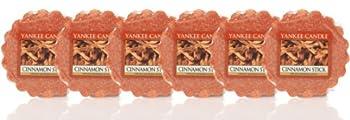 Yankee Candle - 6 x Cinnamon Stick Wax Potpourri Tarts