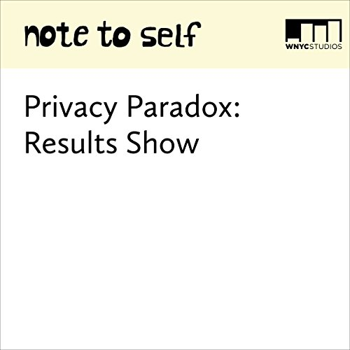 Privacy Paradox: Results Show audiobook cover art