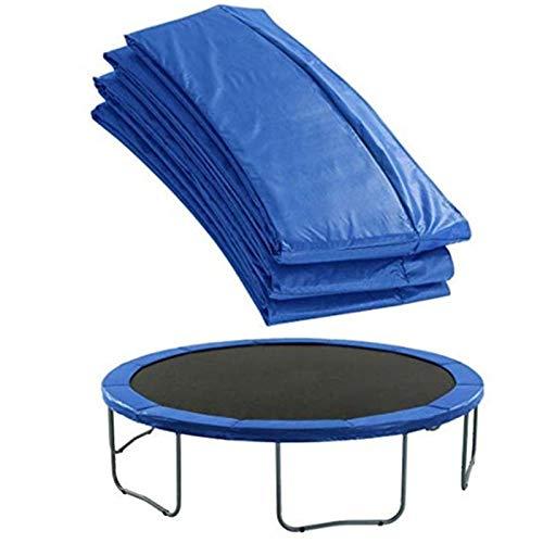 Cubierta Protectora de Borde de Trampolín Impermeable Alfombrilla de Seguridad de Repuesto Resistente a Los Desgarros Repuestos Camas Elásticas (183cm)