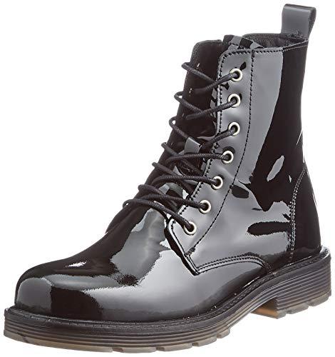 MUSTANG Damskie botki 2892-501, czarny - czarny lakierowany - 40 EU