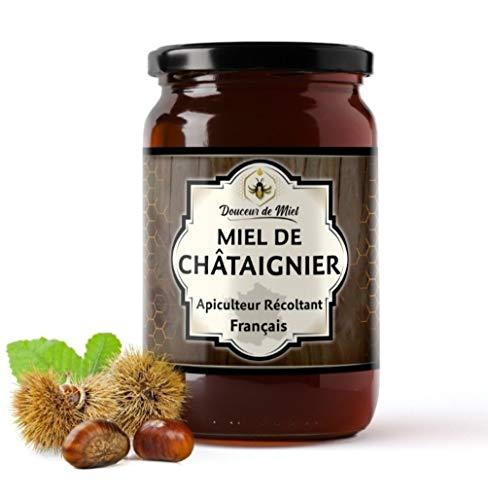 Miel De Châtaigner 100% Français Apiculteur Récoltant haute teneur en pollen de châtaignier