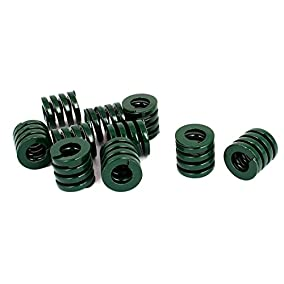 20mm OD 20mm Long Heavy Load Compression Mold Die Spring Green 10pcs