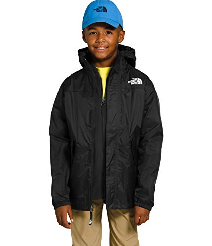 The North Face Youth Stormy Rain Triclimate, TNF Black, XS -  NF0A3YAJJK3XS-CA