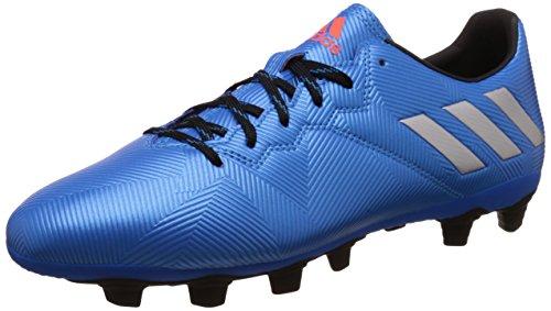 adidas Messi 16.4 FxG, Botas de fútbol para Hombre, Azul (Azuimp/Plamat/Negbas), 43 1/3 EU