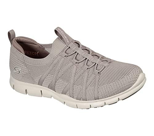 Skechers Zapatillas de deporte para, Marrón topo, 41 EU