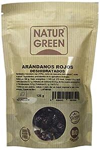 NaturGreen Arándano rojo deshidratado -Pack de 4 unidades de 125 gr