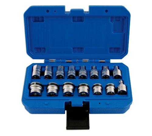 Laser 5518 magnétique de Carter d'huile/Clé à Douilles, 3/8 Dia