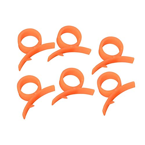 6Pcs Orange Peeler Parer Finger Type Open Orange Peel Orange Device Kitchen Gadgets Cooking Tools Nice Design