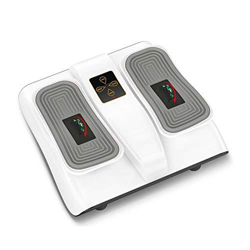MICEROSHE Stepper Domestico Seduti Leg ginnici e Fisioterapia for Gli Anziani Possono Migliorare la Vostra Salute Design Pratico (Colore : Bianca, Size : 41.6x18x37CM)