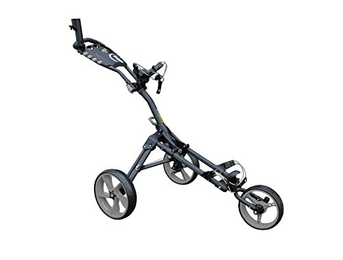 iCart un Compact 3roues un clic Push chariot Gris/gris