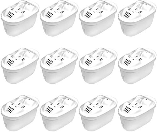 12 Aqua Select Multimax+ Patronen mit Ventilöffner für Brita perfect fit-Systeme