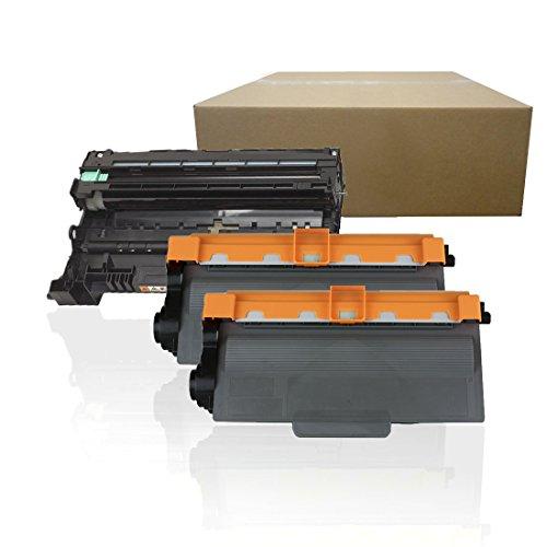 Inktoneram Compatible Toner Cartridges & Drum Replacement for Brother TN720 DR720 DR-720 TN-720 HL-5440D HL-5450DN HL-5470DW HL-5470DWT HL-6180DW HL-6180DWT MFC-8510DN MFC-8710DW ([Drum, 2-Toner],3PK)