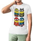 Camisetas La Colmena 124-Minions Heros