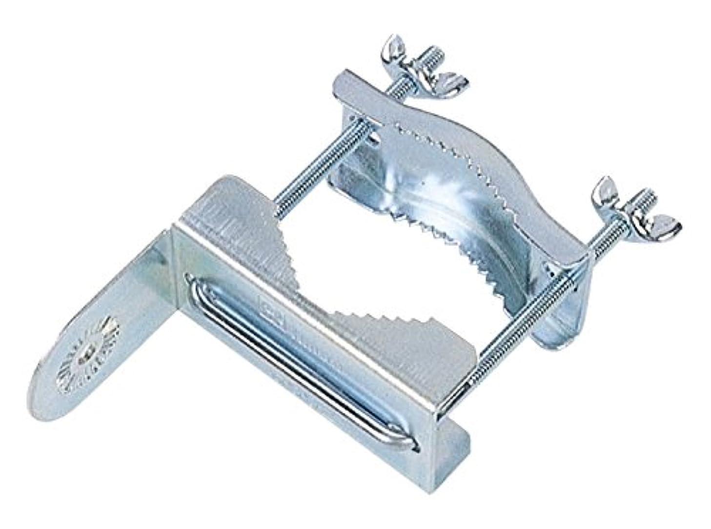 評議会ベギンブラウスMYST(マイスト) ガレージミラー ポール用取付金具(ポール径φ15~φ60mm) (5107)
