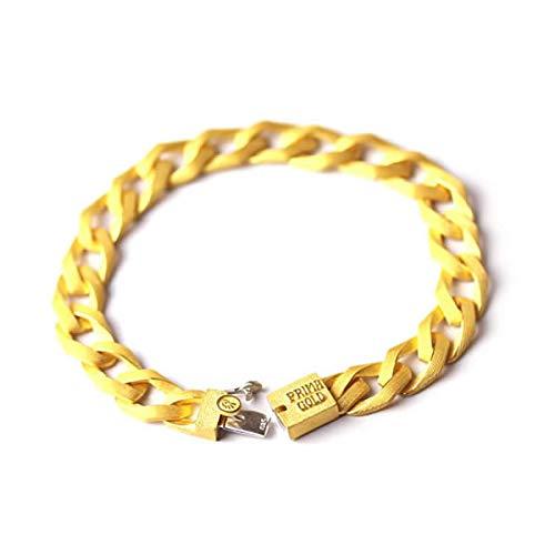 PRIMAGOLD(プリマゴールド) 純金 メンズブレスレット 指輪 K24 24金ジュエリー