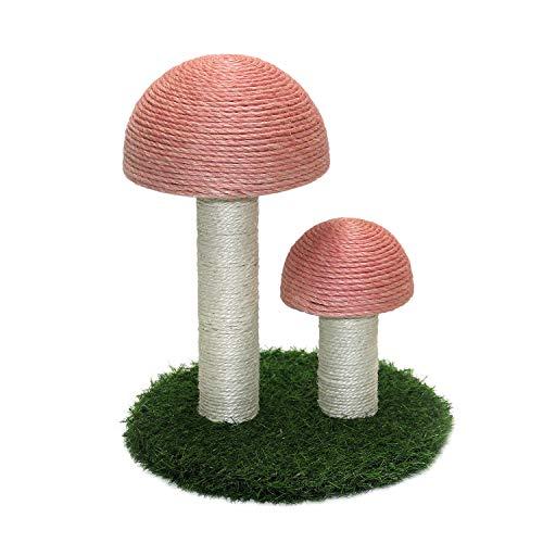 Oteas Kratzbaum für Katzen, Mini-Pilz, Katzenbaumhaus, Spielzeuge für Kätzchen, kleine Tiere