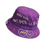 Demarkt Fischerhut UV-Schutz Kinder Strandhut Lässige Kindermütze Unisex Visier Kappe Schutz Kopf Frühling-Sommer Hüte (Lila)