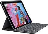 Logitech Slim Folio Integrated Keyboard Case with Bluetooth for iPad 7th Gen & 8th Gen-10.2' Inch...