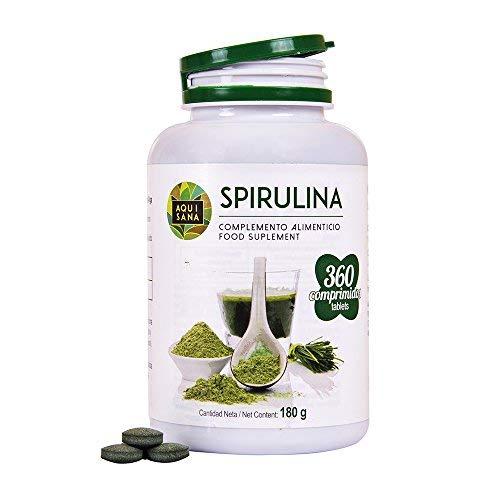 Comprimidos de espirulina, de Aquisana