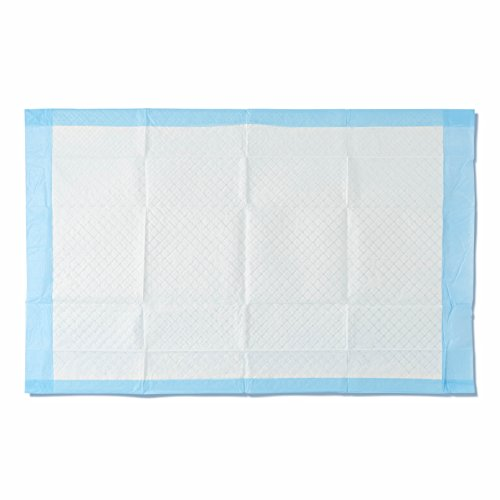 Medline Moderate Absorbency 23' x 36' Quilted Fluff Disposable Underpads, 150 Per Case, Great for Protecting Beds, Furniture, Surfaces
