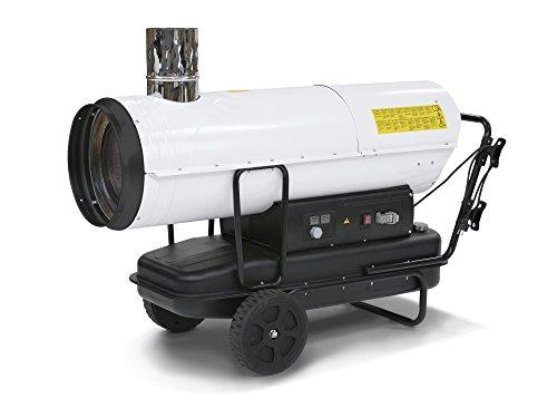 TROTEC Ölheizgebläse IDE 80 Heizkanone Ölheizer Ölbeheizung Heizer (80 kW Heizleistung)