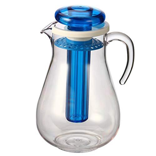 bremermann - Jarra de Agua con Filtro y Varilla de refrigeración (2,8 L) (azul)