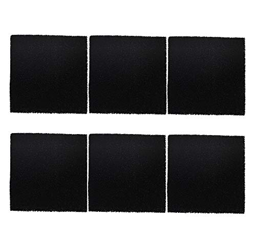 Solder Extractor Filter Activated Carbon Replacement,Pack of 6,Smoke Fume Absorber Filter