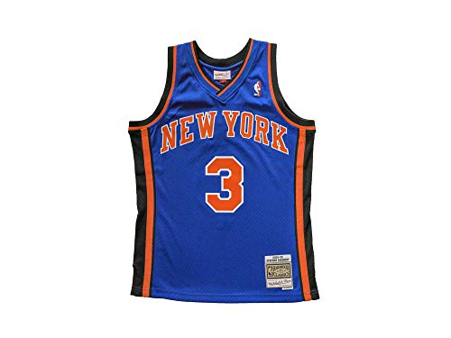 Mitchell & Ness Stephon Marbury #3 New York Knicks 2005-06 Swingman NBA Trikot azul, color azul, tamaño xx-large