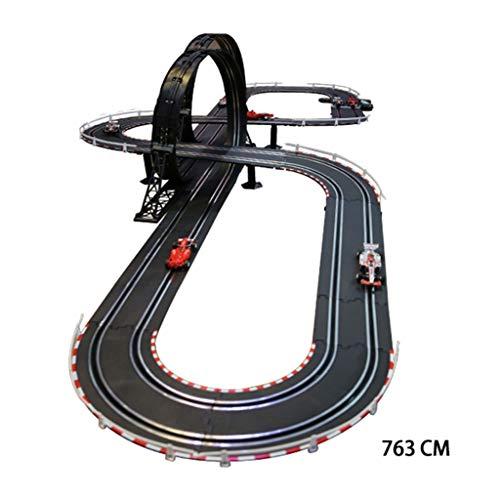 LINGLING-Pista Juguete Tren de Juguete de niños Tracks Track Racing eléctrico Remoto...