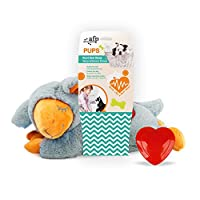 Adorable toy reduces negative behaviors resulting from anxiety or loneliness through natural instinct, not through medication. Recreates intimacy with physical a simulated heartbeat which eases crying, loneliness and separation anxiety in pets. Pulsi...