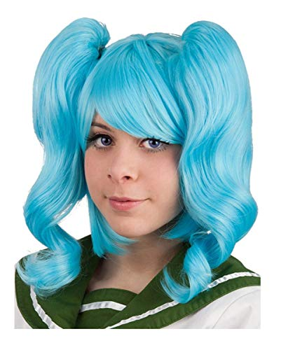 Horror-Shop Cosplay turquoise perruque