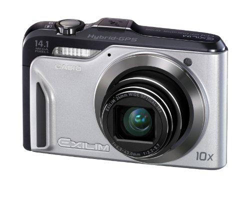 CASIO デジタルカメラ EXILIM EX-H20G シルバー EX-H20GSR
