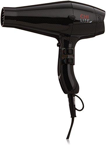 CHI Lite Carbon Fiber Hair Dryer in Light Black