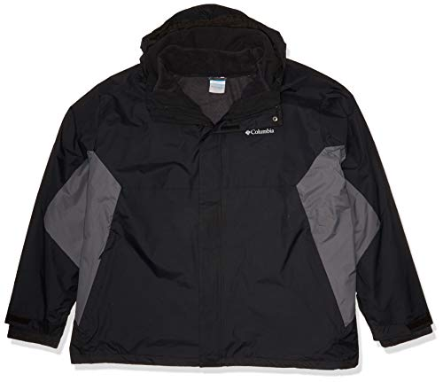 Columbia Men's Eager Air Interchange Jacket, Black/Graphite, Large