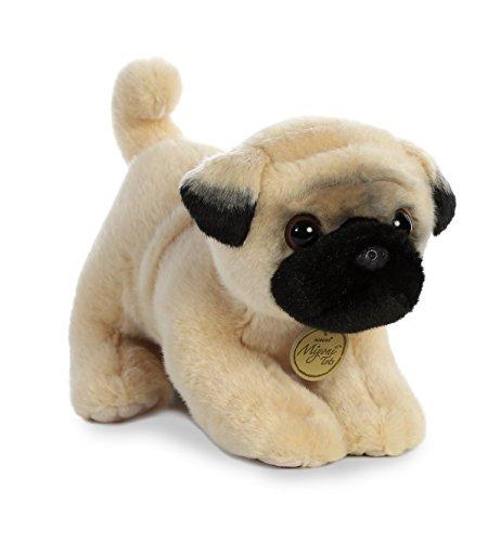 "Aurora - Miyoni - 10"" Pug Pup, Tan/Black"