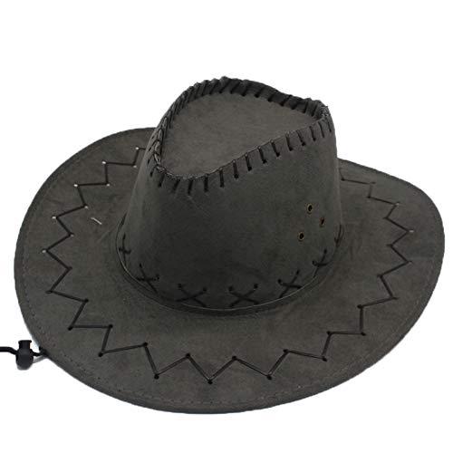 Sombreros de Vaquero de ala Ancha de Fieltro de imitación Vintage Out