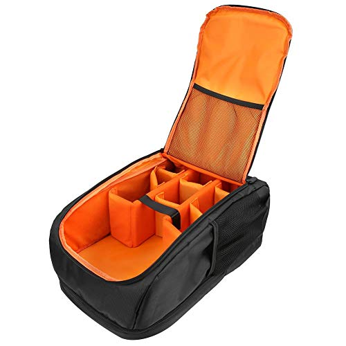 SLR Camera Backpack Case (Black) - Bolsas de almacenamiento de cámara SLR portátiles a prueba de agua para DJI Ronin SC/Air/Spark, para Canon, para Nikon, para Sony, para cámara Fujifilm SLR, cámara s