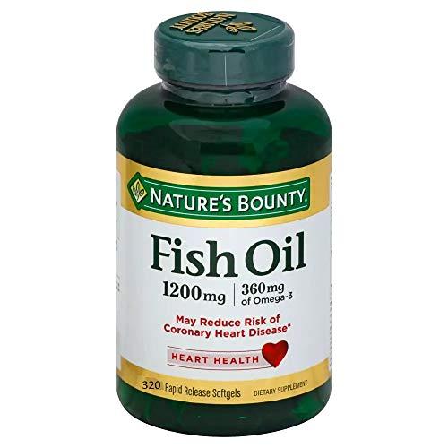 Omega 3 Fish Oil 1200mg (320 Sgels) Natures Bounty